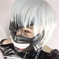 Maske Inspiriert von Tokyo Ghoul Cosplay Anime Cosplay Accessoires Maske Schwarz Leder Mann / Frau