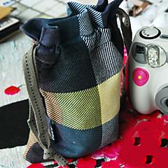 Fenchii Tartan Design Cloth Bag for Sony A7r/A6000/NEX12(29*24CM)