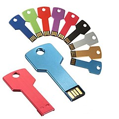 unidades flash USB de metal en forma de clave 16gb