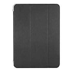 Για Samsung Galaxy Θήκη με βάση στήριξης / Ανοιγόμενη / Οριγκάμι tok Πλήρης κάλυψη tok Μονόχρωμη Συνθετικό δέρμα Samsung Tab 4 10.1