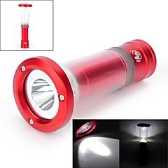 LED Flashlights / Lanterns & Tent Lights LED 6 Mode 200 LumensAdjustable Focus / Waterproof / Impact Resistant / Nonslip grip / Strike