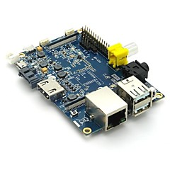 Original Banana Pi Project Board with Dual core,1GB Memory,fast Ethernet RJ45,SATA port ,optional WIFI,Android 4.2