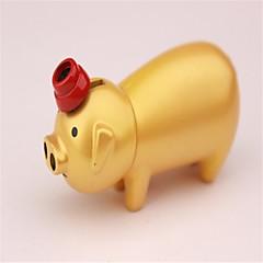 porcs d'or briquets personnalité métalliques