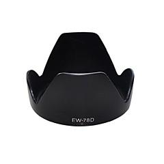 Dengpin® EW-78D Lens Hood for Canon 18-200mm 28-200mm 7D 6D 70D 60D 700D 650D 600D 18-200mm Lens