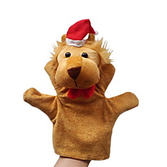 Christmas Lion Large-sized Hand Puppets Toys