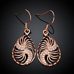 Drop EarringsJewelry Golden / Rose Gold Plated Wedding / Party / Daily / Casual