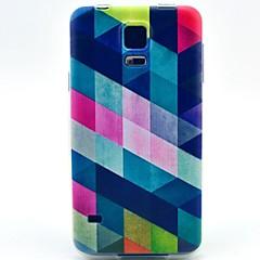 padrão de cor diamante TPU macio para i9600 S5