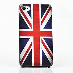 Toophone® JOYLAND The British Flag Back Case for iPhone 4/4S