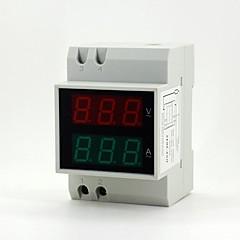 """0.55 """"de 6 dígitos llevó digital de corriente / medición amperímetro / voltímetro voltaje"""