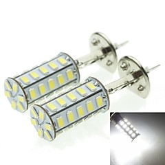 H1 20W 36X5730SMD 800-1200LM 6000-6500K White Light Led Bulb for Car Fog Lamp(A pair/AC12-16V)