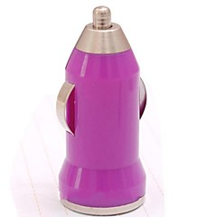 Mini Bullet Car Charger for iPhone 3/4/4s/5/5s(Assorted Color)
