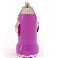 Mini chargeur de voiture de balle pour l'iPhone 3/4 / 4S / 5 / 5S (couleur assorties)