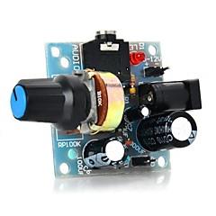 386 미니 오디오 증폭기 모듈 - 라이트 블루 (5 ~ 12V)