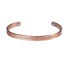 "Rainso® Copper bangle Healing Magnetic For Men Or Women 6.5""-7.5"" Jewelry"