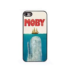 Whale Design Aluminium Hard Case for iPhone 4/4S