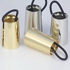 z&x® Europese stijl gecontracteerd conische haar band (2 kleuren opties: goud, zilver)