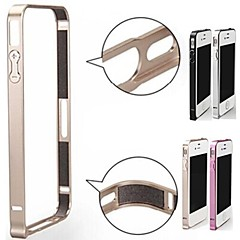 Solid Color Metal Bumper Case Frame for iPhone 4/4S (Assorted Colors)