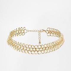 kvinnors Europeiska och amerikanska handeln mode enkla halsband
