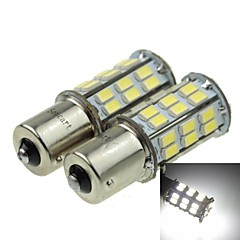 1156 (P21W Ba15s) 12W  2-Mode White 1000LM 6000K for Car Reversing lamp (DC12V)