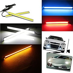 Waterproof 6W 600lm 6000-8000K LED COB Car DRL Daytime Running Light Fog Driving Lamp (DC12V / 17cm)