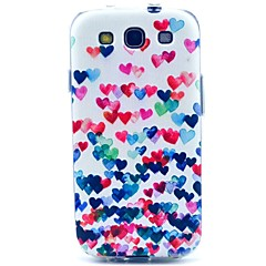Love Dancing Pattern TPU Soft Case for S3 I9300