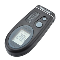 """1.4"""" LCD Portable Infrared Thermometer with Red Sighting Laser (-27°F ~ 482°F / 2*CR2032)"""