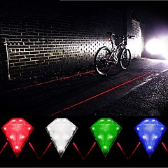 IFire Diamond 3-Mode LED Bicycle Tail Lashlight(1*14500,Multicolor)