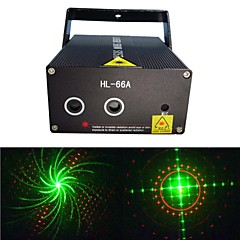 LT-HL66A  Whirly Image Red and Green Laser Projector (Green: 50MW Red: 100MW)