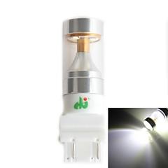 HJ 3157 30w 2600lm 6000-6500k 6x2835 SMD LED ampoule blanche pour la lumière voiture de brouillard (12-24, 1 pièce)