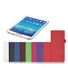 pbook 7 tuuman PU nahka tabletti tapauksessa kattaa Samsung Galaxy TAB4 SM-T230 / smt231
