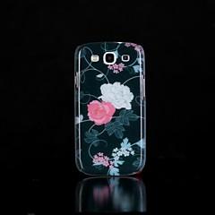 modello di fiori bagliore nel buio caso duro per i9300 galassia S3 di Samsung