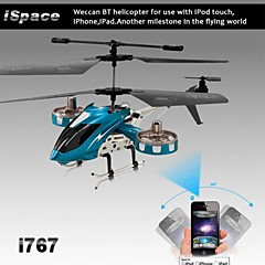 iphone, ipad ve android için gyro ile i-kumanda rc 4ch helikopter