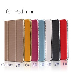 SHENGO™ Crystal Rhinestone Leather Case for iPad mini/mini 2(Assorted Color)
