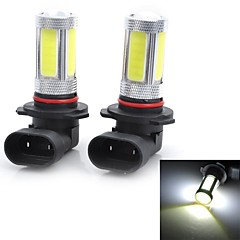 Marsing High Power 9006 25W 6500K 1800lm 5-COB LED Cool White Car Head Light / Foglight (12~24V / 2 PCS)