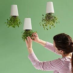 neje potten upp och ner anläggningen DIY sky planter