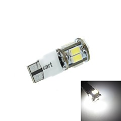 T10 LED 2-Mode White 5W 11X5630SMD 400-550LM 6000-6500K  for Car Signal Light (DC12-16V)
