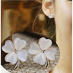 Earring Clip Earrings Jewelry Wedding / Party / Daily / Casual Alloy Gold