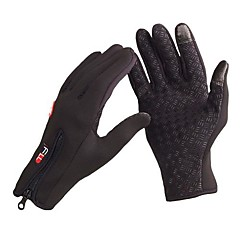 Full-finger Gloves / Winter Gloves Unisex / Men's Keep Warm / Anti-skidding Ski & Snowboard / Cycling/BikeRed / Black / Blue / Orange /