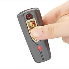 HX-068 métallique protection de l'environnement briquet électronique de chargement USB