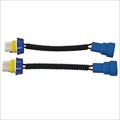 9005 masculino a los zócalos de mazo de cables del cable extensor un coche de faros / luces antiniebla (2pcs)