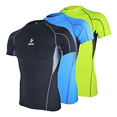 ARSUXEO® Running Underwear / Compression Clothing / T-shirt Men's Short SleeveBreathable / Quick Dry / Anatomic Design / Wearable / Antistatic /