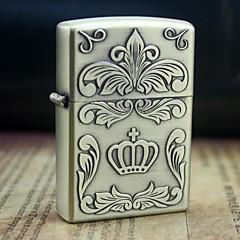 maan kulta keisarillisen kruunun kuvio metalli helpotus öljy kevyempi