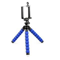"""mini lehký stativ es100l s 1/4 """"šroubem hlavy a telefonní klip pro digitální fotoaparát / mobilní telefon / mobil"""