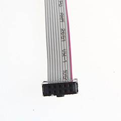 Double Line FC-10P Line Spacing 2.54MM Long 30CM