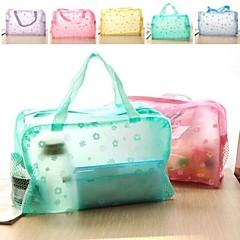 """Travel BagForTravel Storage Plastic 9.25""""*6.9""""*3.15""""(23.5cm*17.5cm*8cm)"""