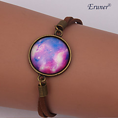 Handmade Fashion Women's Pretty Galaxy Cosmic Moon Bracelets