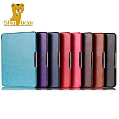Shy Bear™ 6.8 Inch Leather Cover Case for Kobo Aura H2O Ebook Reader Assorted Color