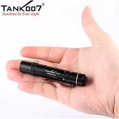[Newyearsale] tank007® PA01 mini penlight / caplamp 1-mode OSRAM LED lommelygte (90lm 1xaaa, sort)