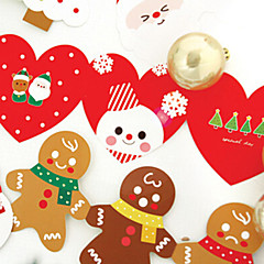 belle dossier des cartes de Noël (5 + 5 cartes enveloppe)