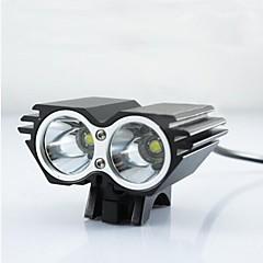ls080 cree 2 x CREE XM-L U2 vezetett kerékpár kerékpár világítás fényszóró első fényszóró készlet (véletlenszerű szín)